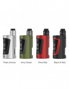 GeekVape GBOX Squonker 200W TC Kit with Radar RDA 1