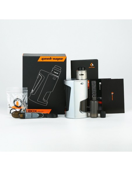 GeekVape GBOX Squonker 200W TC Kit with Radar RDA 5