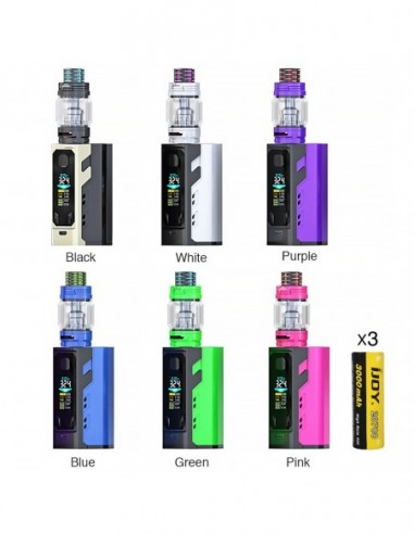 IJOY Captain X3 324W 20700 TC Kit 9000mAh 0
