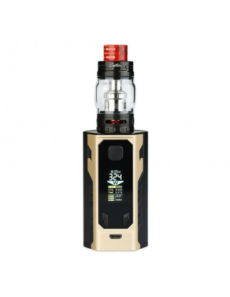 IJOY Captain X3 324W 20700 TC Kit 9000mAh 2