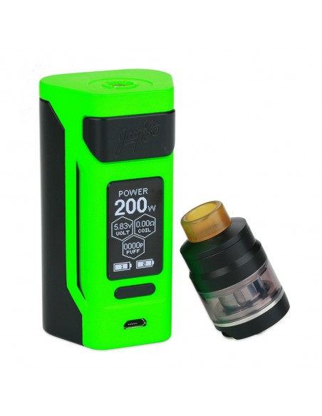 WISMEC Reuleaux RX2 20700 200W with Gnome TC Kit 4