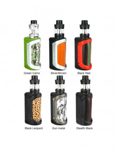 GeekVape Aegis 100W 26650 TC Kit with Shield Tank 0