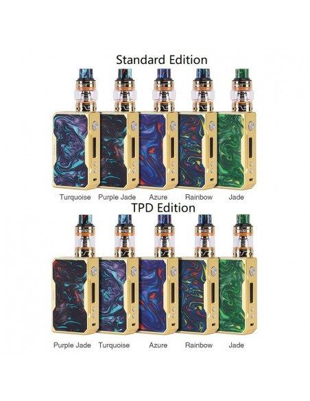 VOOPOO DRAG 157W TC Kit with UFORCE 0