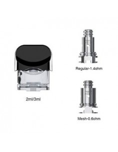 SMOK Nord Replacement Pod 2ml/3ml 0
