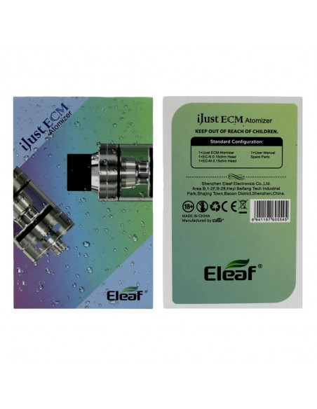 Eleaf iJust ECM Atomizer 4ml/2ml 8