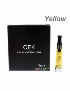 Kangertech CE4 eGo Clear Cartomizer 1.6ml 5pcs 0