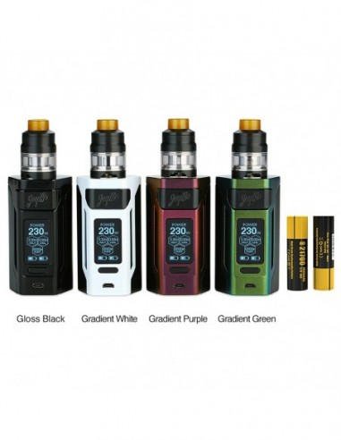 WISMEC Reuleaux RX2 21700 230W with Gnome TC Kit 8000mAh 1