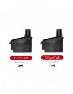 SMOK X-Force Cartridge 2ml/7ml 0