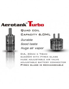 Kangertech Aerotank Turbo Clearomizer 6ml 0