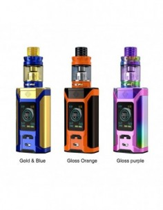 WISMEC SINUOUS RAVAGE230 230W TC Kit with GNOME King 0
