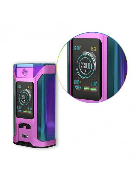 WISMEC SINUOUS RAVAGE230 230W TC Kit with GNOME King 6
