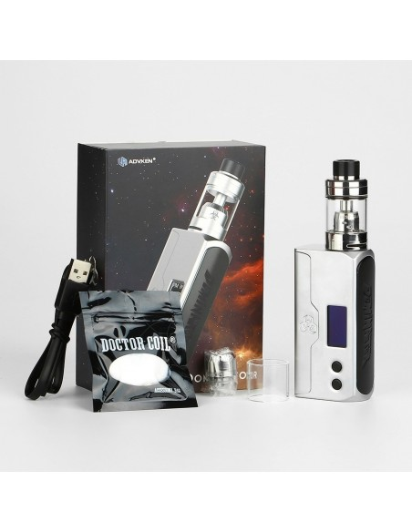 Advken Dominator 100W TC Kit RBA Deck Version 12