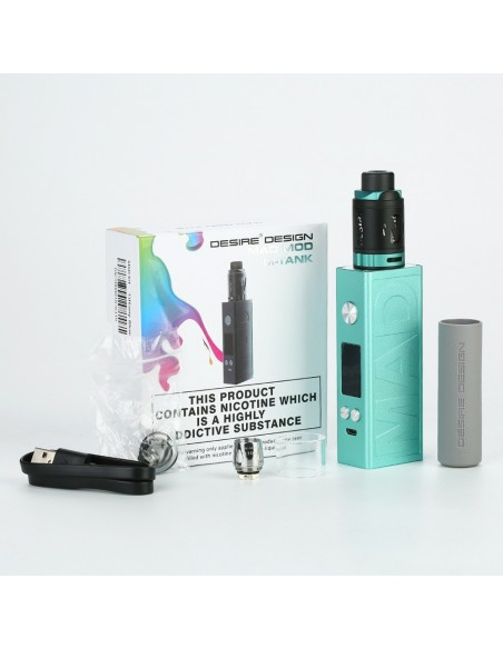 Desire Mad Mod 108W TC Kit with M-Tank 14