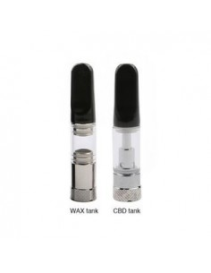 Tesla Mini DUO CBD/Wax Tank 0.5ml 0