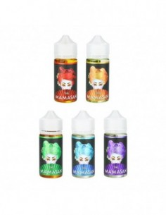 The Mamasan Premium PG+VG E-liquid E-juice 100ml 1