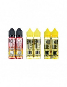 Lemon Twist Premium PG+VG E-liquid E-juice 2x60ml 0