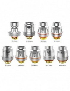 VOOPOO UFORCE Replacement Coil 5pcs 0