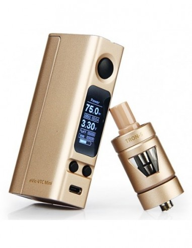 Joyetech eVic-VTC Mini 75W TC Full Kit with TRON-S Atomizer 0