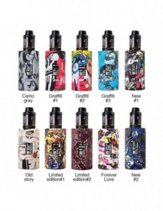 Vapor Storm Puma 200W TC Kit with Hawk Tank 1