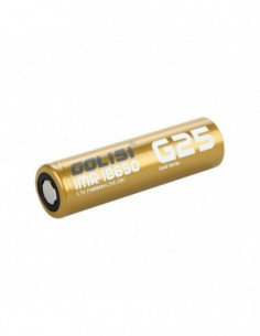 Golisi G25 IMR 18650 High-drain Li-ion Battery 25A 2500mAh 0