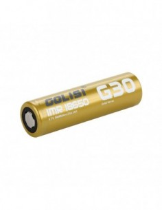 Golisi G30 IMR 18650 High-drain Li-ion Battery 25A 3000mAh 0