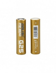 Golisi G25 IMR 18650 High-drain Li-ion Battery 25A 2500mAh 2pcs 0