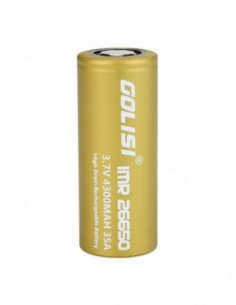 Golisi S43 IMR 26650 High-drain Li-ion Battery 35A 4300mAh 0