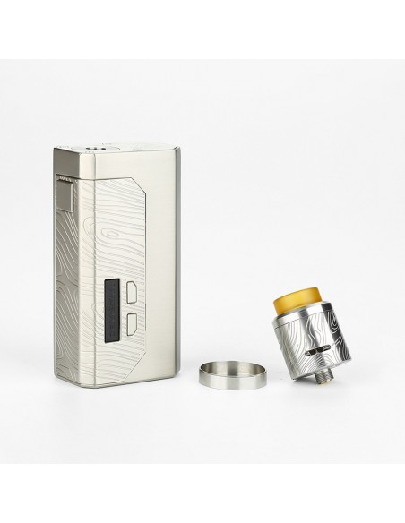 WISMEC Luxotic MF Box MECH Kit with Guillotine V2 (W/O Screen) 7