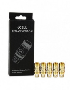 Vaporesso Ceramic CCELL Replacement Coil 5pcs 0