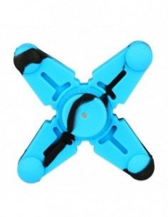 Vapesoon Silicone Hand Spinner Fidget Toy with Four Spins 0