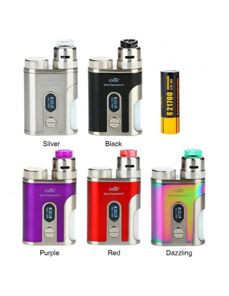 Eleaf iStick Pico Squeeze 2 100W Squonk Kit with Coral 2 RDA 4000mAh 0