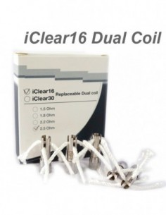 Innokin iClear 16 Replacement Coil Unit 5pcs 0