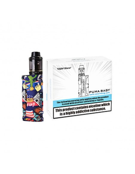 Vapor Storm Puma Baby 80W TC Kit with Hawk Tank 1
