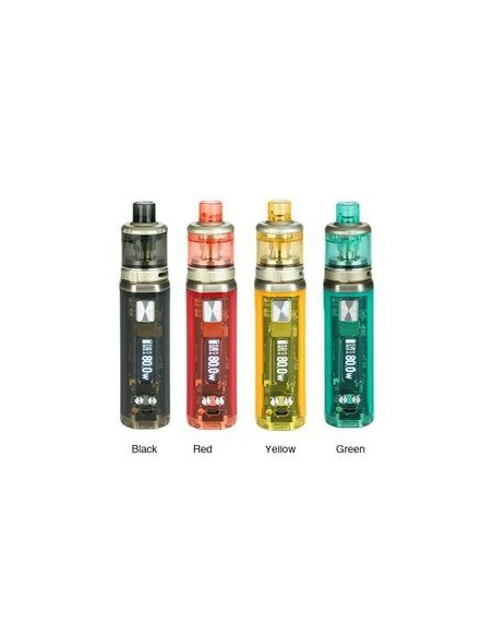 WISMEC SINUOUS V80 80W TC Kit with Amor NSE 0