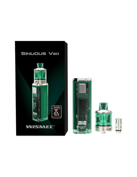 WISMEC SINUOUS V80 80W TC Kit with Amor NSE 1
