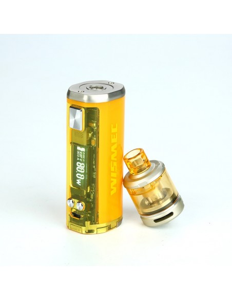 WISMEC SINUOUS V80 80W TC Kit with Amor NSE 20