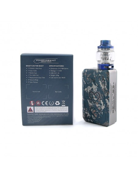 Tesla Poker 218 TC Kit with Resin Tank 5