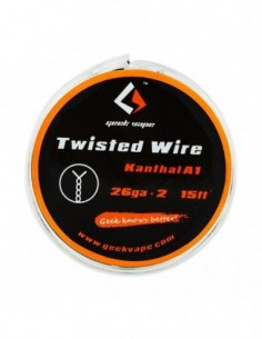 GeekVape Atomizer DIY Twisted Wire (KA1 26GAx2) 15ft 0