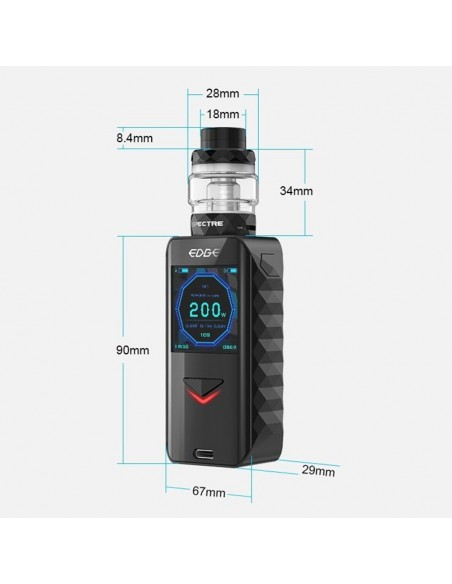 Digiflavor Edge 200W TC Kit with Spectre 18