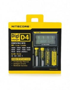 Nitecore Intellicharger D4 LCD Battery Charger 0