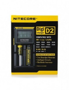 Nitecore Intellicharger D2 LCD Battery Charger 0