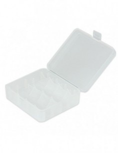 Plastic Storage Case for 18650/26650 Battery 0