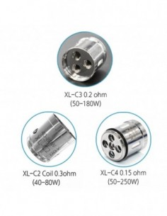 IJOY XL-C Light-up Chip Coil 3pcs 0