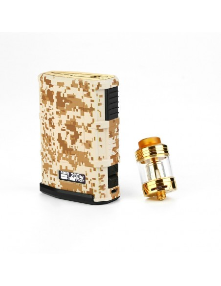 Cool Vapor MADPUL 200W VW Kit with LAVA Tank 3