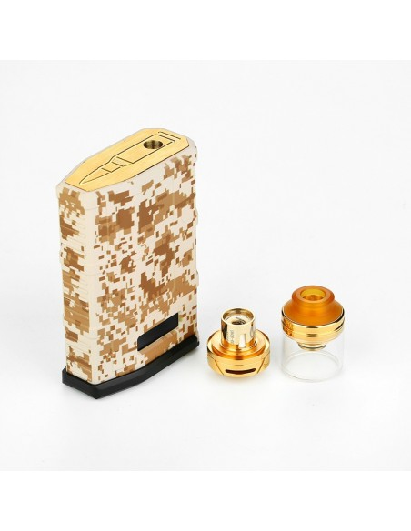 Cool Vapor MADPUL 200W VW Kit with LAVA Tank 7