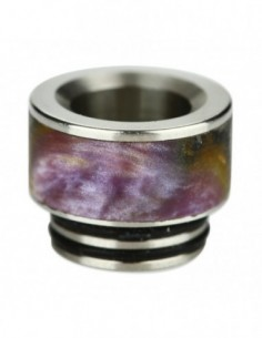 Arctic Dolphin Stabilized Wood Drip Tip 810 A10 0