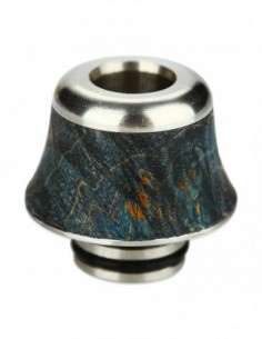 Arctic Dolphin Stabilized Wood Drip Tip 510 A12 0