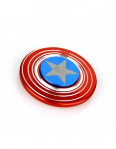 Captain America Hand Spinner Fidget Toy 0