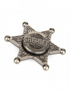 Sheriff Hand Spinner Fidget Toy 0