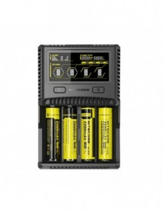 Nitecore Intellicharger SC4 Li-ion/NiMH Battery 4-slot Charger 0